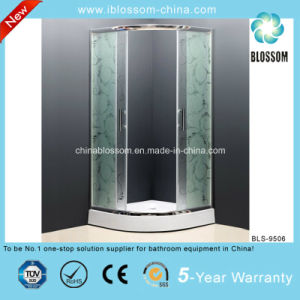 Tempered Acid Glass Simple Shower Enclosure Shower Cubicle/Cabin (BLS-9506) pictures & photos