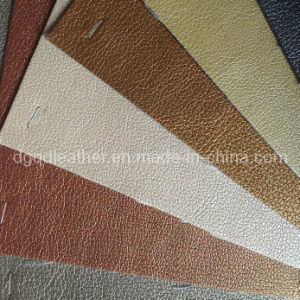 High Quality Furniture Bonded PU Leather (QDL-FB007) pictures & photos