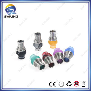 2014 New Ecig Drip Tips! Big Hole Ss Acrylic Drip Tip