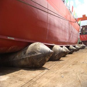 Ship and Boat Launching Marine Rubber Air Bags pictures & photos