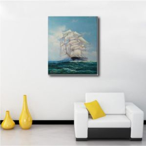 Sailing Vessel Paiting for Home Decoration pictures & photos