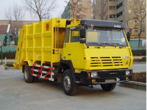 Sinotruk HOWO Rear Garbage Truck 4X2 pictures & photos