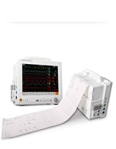 12.1 Inch Modular Patient Monitor Touch Screen Ccu ECG EKG Machine Telemetry (SC-C100)