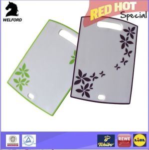 Hot Sale Hangable Anti-Slip Plastic Cutting Board Kitchen