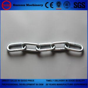 7mm STEEL CHAIN welded short and long links industry galvanised metal heavy duty