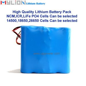 Hight Quality Lithium Battery for Smart Vacuum Cleaner 18650