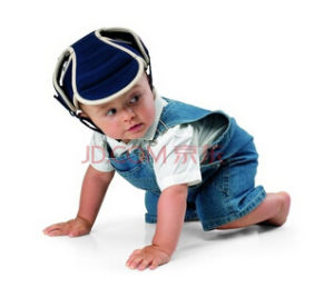 a Safety Helmet for Children/Baby, Which Is Used for Preventing The Head From Being Stabbed by Sharp Objects, and The Safety Device for Crawling Babies