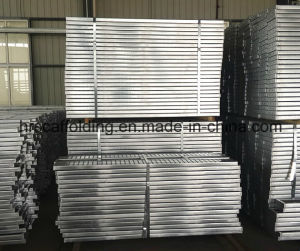 Galvanized Metal Scaffold Plank of Material Q235 pictures & photos