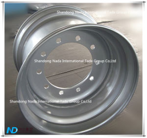 22.50X16.00 Tubeless Rim TBR Truck Steel Wheel with Ts16949/ISO9001: 2000 pictures & photos