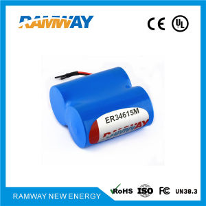 7 2 14500mAh 2er34615 Battery Packs for Search and Rescue Radar Transpnder