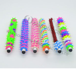 Silicone Rubber Spiky Ballpoint Pen for Promotion