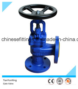 ANSI Flanged Two Ways Right Angle Ductile Iron Gate Valve pictures & photos