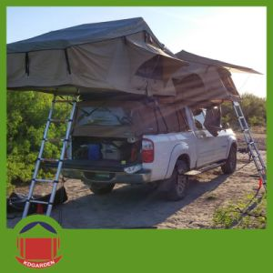 Outdoor Camping Car Roof Top Tent with Back Skirt Annex pictures & photos