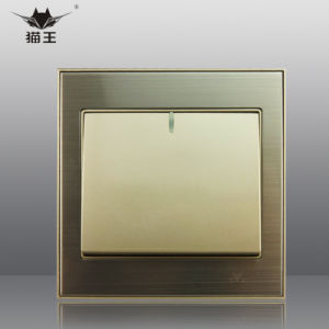 European Style 1 Gang Wall Switch for Home (MP89-02)
