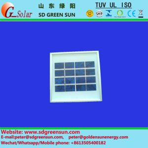 1W Solar Panel with Tempered Glass Cover and Al Frame pictures & photos