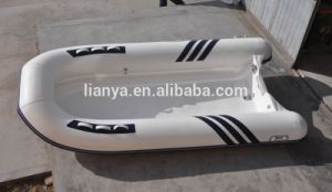 Liya 4.0m Fiberglass Hull Rib Fiberglass Boat for Sale pictures & photos