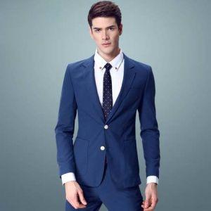 Blue Color Fashion OEM Men Suits
