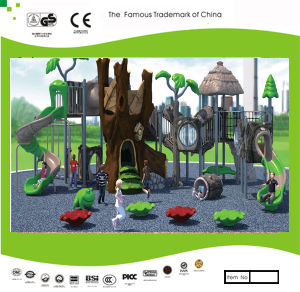Kaiqi Medium Sized Forest Treehouse Themed Children′s Playground (KQ30015B) pictures & photos