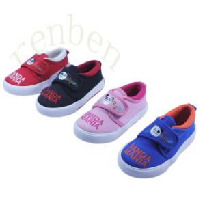 2017 New Arriving Children′s Comfortable Casual Canvas Shoes pictures & photos