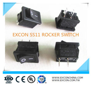 Excon Ss11 Square Boat Rocker Switch Push Switch