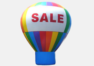 Stationary Inflatable Hot Air Balloon for Promotion and Advertising (AB-E380)