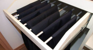 Customized Wooden Bedroom Sliding Door Wardrobe (zy-004) pictures & photos