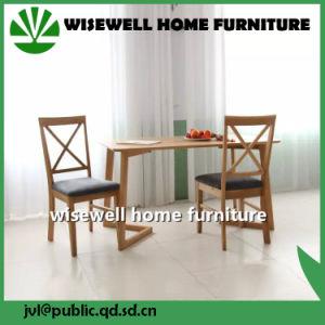 Oak Wood Dining Set Modern Furniture Design