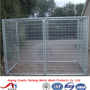Outdoor Boxed Black Powder-Coated Welded Dog Kennels, Dog Run Factory pictures & photos