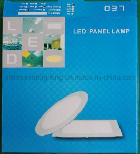 Square Slim 18W LED Panel Light for Embedded Mounted