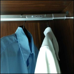 LED Rod Light for Wardrobe and Hanging Clothes