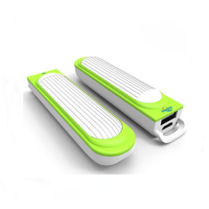 2600mAh Fashion Spaceship Power Bank Portable Mobile Phone Charger