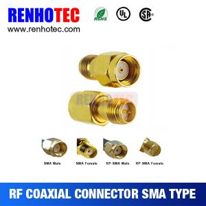 RF SMA Male to Male Straight Connector pictures & photos