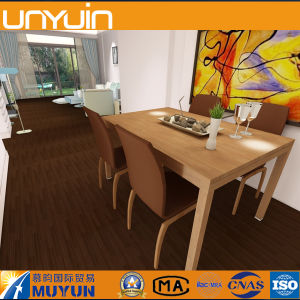 Glue Down Wood PVC Vinyl Floor for Home