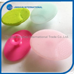 Hot Sale Colorful Silicone Facial Cleansing Brush Cheap Body Massager pictures & photos