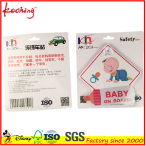 Child on Board Car Sign with Suction Cup Vehicle Safety Bright Child Board Car Sign pictures & photos