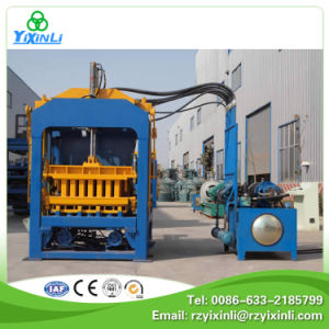 Qt10-15 Fully Automatic Concrete Brick Block Making Machine