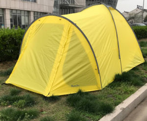 Custom Camping Canopy Display Yellow Mountain Tent pictures & photos