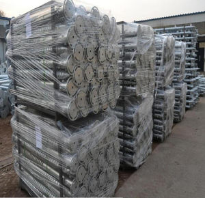 Hot DIP Galvanized Flange Ground Screw Pile for Solar Energy Mounting