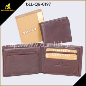High Quality Leather Wallet Gift Set for Business Man
