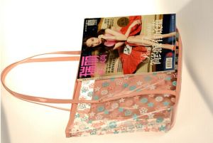 The New Summer Relaxing Transparent Beach Bag (BDMC133) pictures & photos