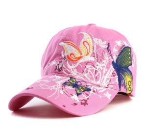 Women′s Embroidery Cap