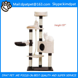 New Style Fashion Design Funny Cat Tree with Sisal Pole