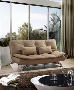 High Density Foam All Metal Construction Sofa Bed
