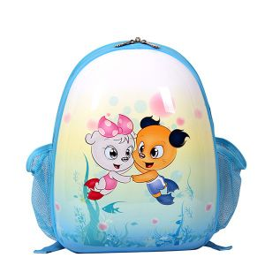 china blue smjm oval shape kid backpack small cute backpacks for