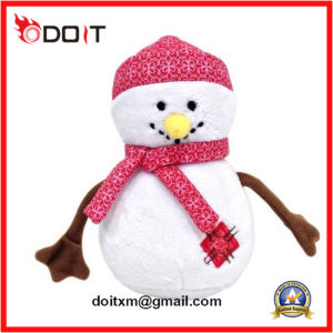 Soft Toy White Stuffed Plush Snowman with Scarf pictures & photos