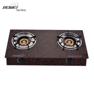 Well Appreciated Tempered Glass Double Burners Best Price Gas Range