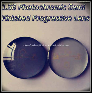1.56 Photochromic Semi Finished Progressive Lens