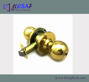 ANSI Grade 2 Commercial Heavy Duty Cylindrical Safe Door Knob Ball Lock (4371SS)