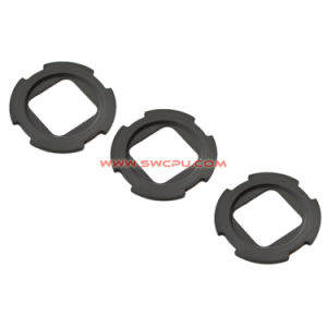 Industrial Reinforced Silicone Rubber Seal Gasket / Neoprene Concave Washer pictures & photos