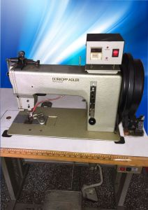 Used Triple Feeding Durkopp Adler Sewing Machine (DA-204) pictures & photos